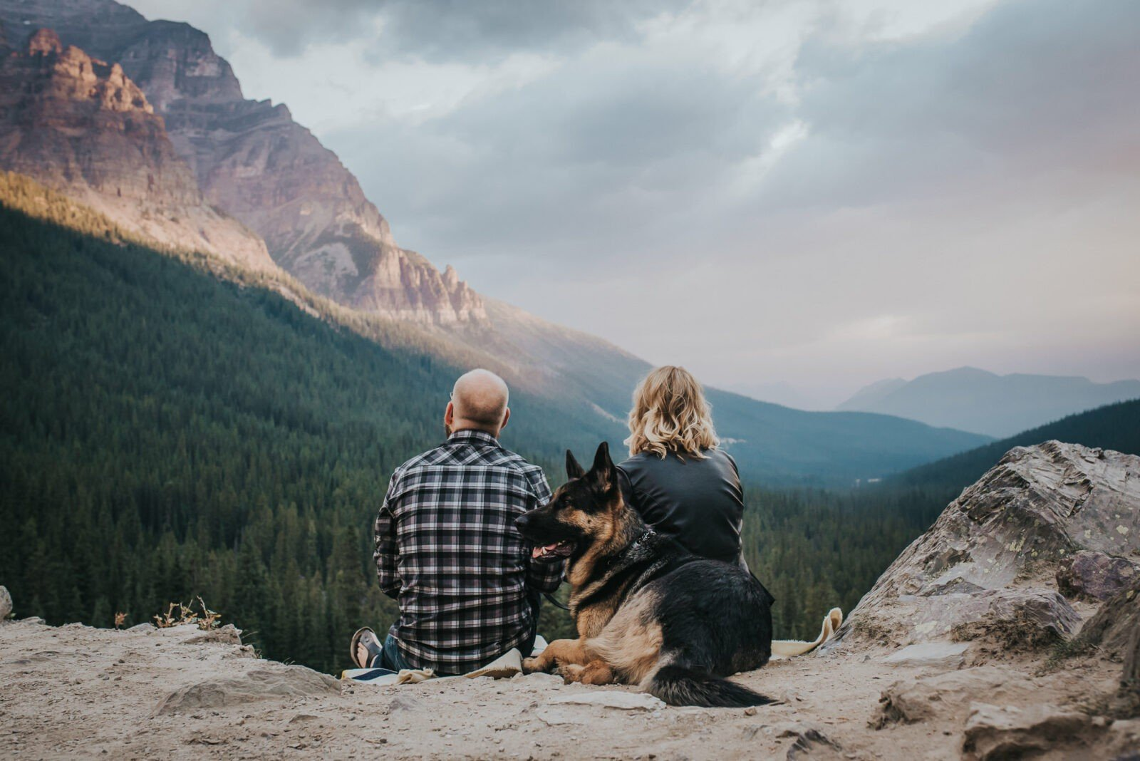 Sunrise Mountain engagement session