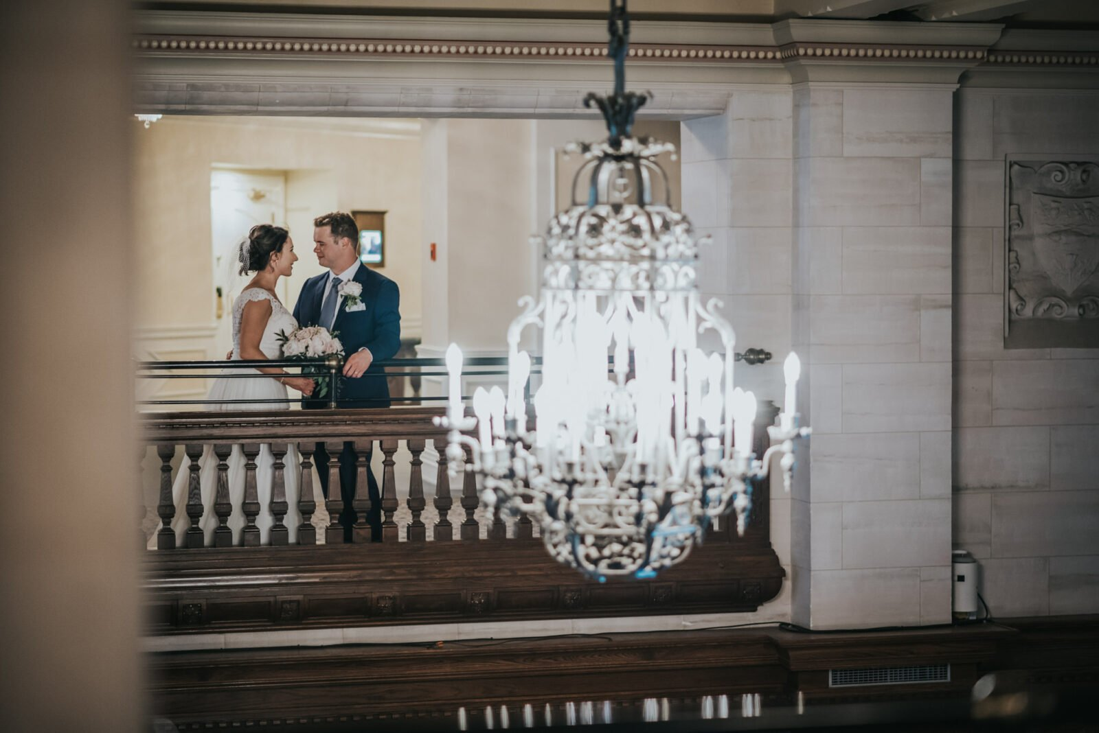 edmonton fairmont hotel macdonald wedding photo