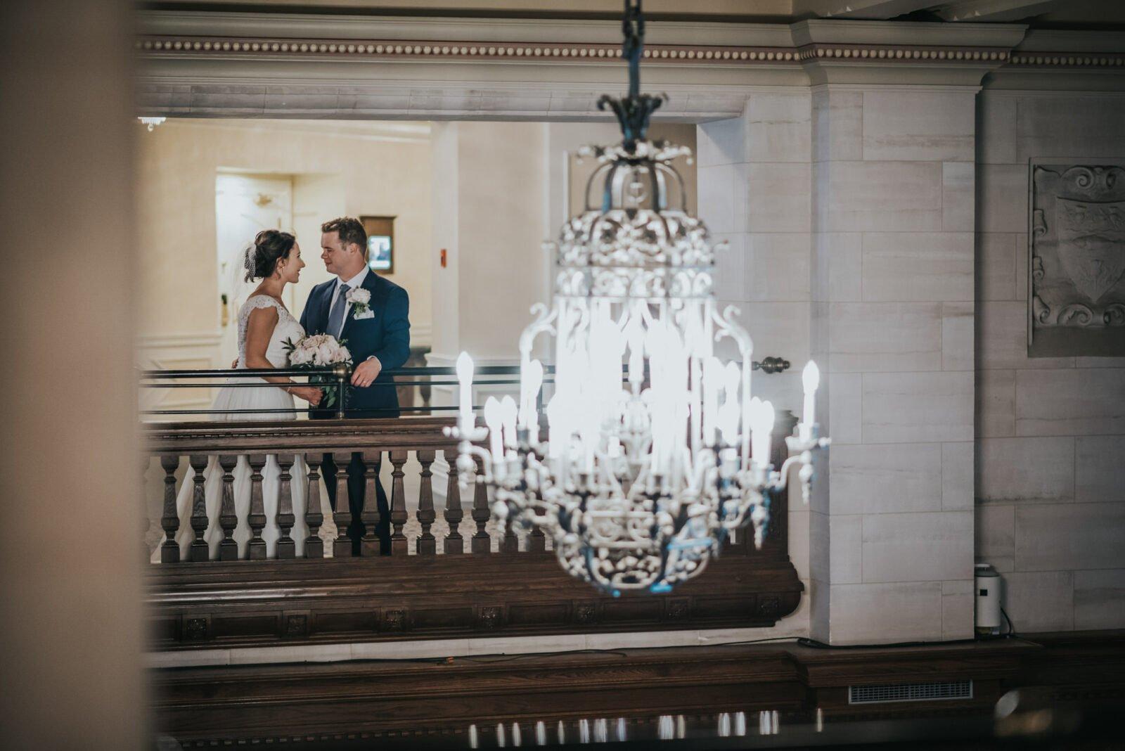 edmonton fairmont hotel macdonald wedding photo