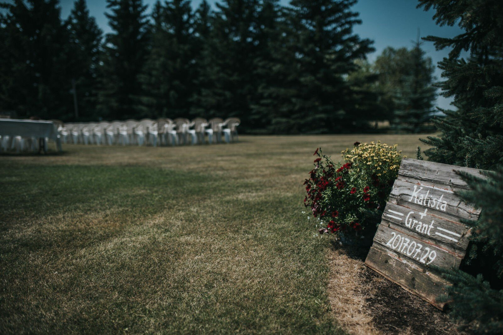 alberta country wedding photography